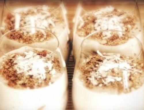 Quick and Easy Coconut Banana Cream Tart Recipe