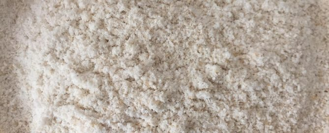 finely ground oats