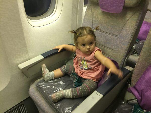 emirates seat to herself