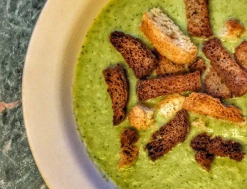 Healthy Creamy Broccoli Soup