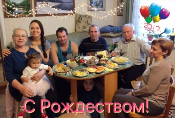 Russian Orthodox Family Christmas