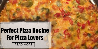 Perfect Vegetarian Pizza Recipe